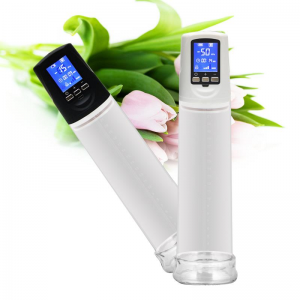 Liquid Crystal Rechargeable Automatic Penis Pump